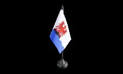 France Nice Table Flag - 3.95 x 5.9 inch