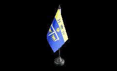 France Pau Table Flag - 3.95 x 5.9 inch