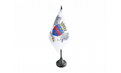 France Saint Barthélemy Table Flag - 3.95 x 5.9 inch