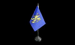 France Saint-Brieuc Table Flag - 3.95 x 5.9 inch