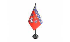 France Toulouse Table Flag - 3.95 x 5.9 inch