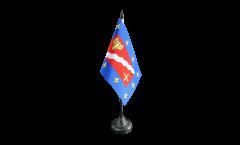 France Val-d'Oise Table Flag - 3.95 x 5.9 inch