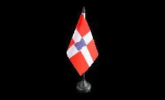 France Valence Table Flag - 3.95 x 5.9 inch