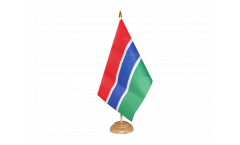 Gambia Table Flag