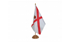 Great Britain Jersey Table Flag
