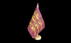 Great Britain Richard Lionheart Table Flag