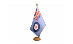 Great Britain Royal Airforce Table Flag