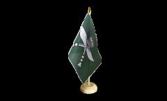 Great Britain Royal Gurkha Rifles Table Flag - 5.9 x 8.65 inch