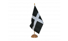 Great Britain St. Piran Cornwall Table Flag