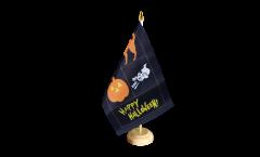 Happy Halloween 4 Table Flag