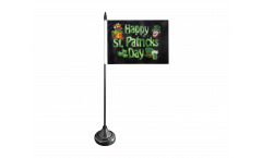 Happy Saint Patrick's Day St Patrick's Table Flag