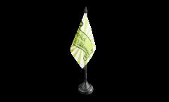 Herzlich Willkommen green Table Flag - 3.95 x 5.9 inch