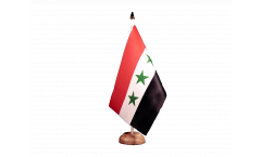 Iraq without writing 1963-1991 Table Flag