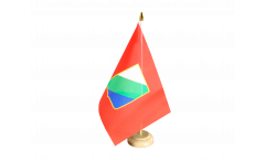 Italy Abruzzi Table Flag