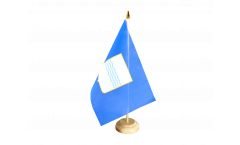 Italy Basilicata Table Flag