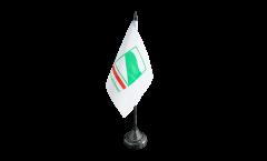 Italy Emilia-Romagna Table Flag