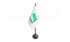 Italy Emilia-Romagna Table Flag - 3.95 x 5.9 inch