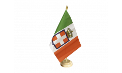 Italy Kingdom Royal Army 1861-1946 Table Flag