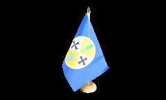 Italy Calabria Table Flag