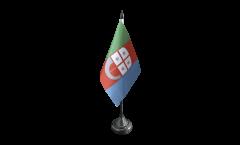 Italy Liguria Table Flag