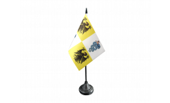 Italy Duchy of Milan 1395-1797 Table Flag - 3.95 x 5.9 inch