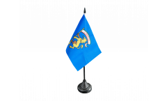 Italy Province of Bologna Table Flag - 3.95 x 5.9 inch