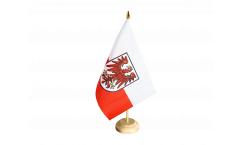 Italy South Tyrol Table Flag