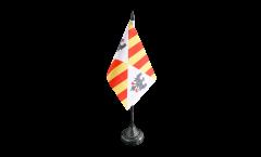 Italy Kingdom of Sicily 1130 - 1816 Table Flag