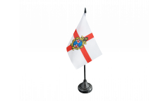 Italy Bologna Table Flag - 3.95 x 5.9 inch
