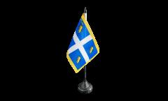 Italy Turin Table Flag