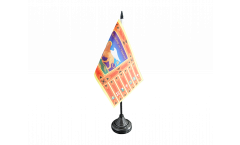 Italy Republic of Venice 697-1797 Table Flag - 3.95 x 5.9 inch
