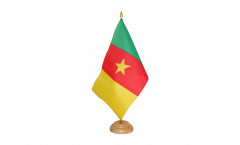 Cameroon Table Flag