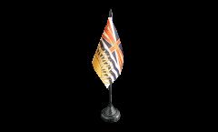 Canada British Columbia Table Flag