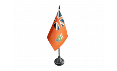 Canada Manitoba Table Flag