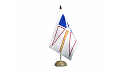 Canada Newfoundland and Labrador Table Flag