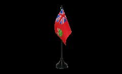 Canada Ontario Table Flag