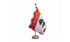 Canada Prince Edward Islands Table Flag