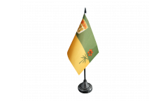 Canada Saskatchewan Table Flag