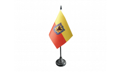 Colombia Bogota Table Flag - 3.95 x 5.9 inch