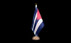 Cuba Table Flag