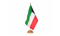 Kuwait Table Flag