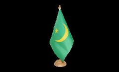 Mauritania 1959-2017 Table Flag