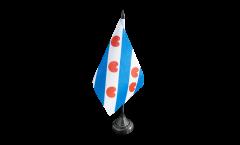 Netherlands Friesland Table Flag