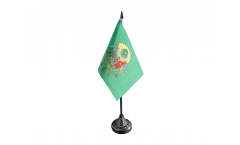 Ottoman Empire Coat of Arms Table Flag - 3.95 x 5.9 inch
