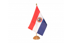 Paraguay Table Flag