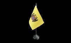 Peru Lima Table Flag