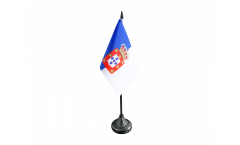 Portugal royal 1830-1910 Table Flag - 3.95 x 5.9 inch
