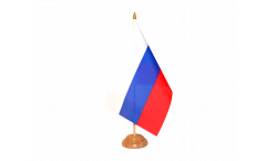 Russia Table Flag