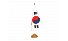 South Korea Table Flag