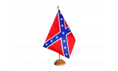 Confederate States Table Flag - 5.9 x 8.65 inch